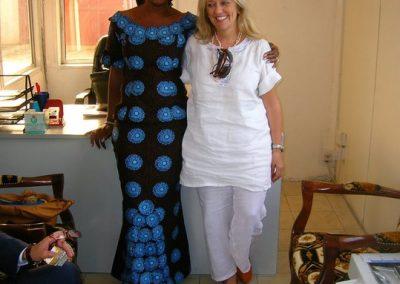 Maria Cardillo imprenditrice ad Abuja