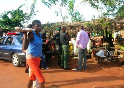 Villaggio nel Benin